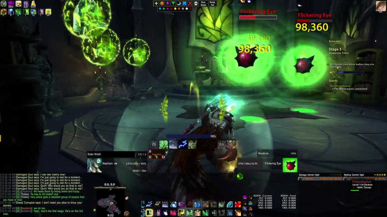 Resto Druid Artifact Challenge Guide : How to get the